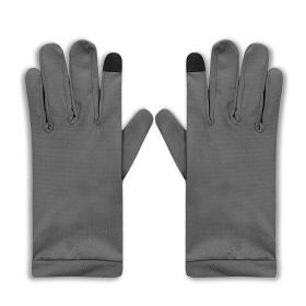 UV Sun Protective Gloves - Dark Grey - Small