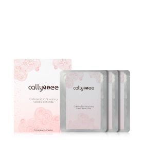 Caffeine Rush Nourishing Facial Sheet Masks - 3 pcs
