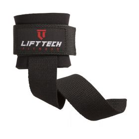 Neo Wrist Support Lifting Straps - Black