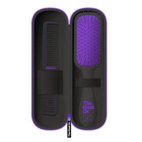 The Knot Dr - Pro Mini Hair Brush Kit - Periwinkle Purple