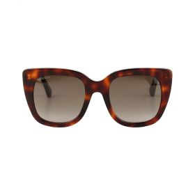 Gucci - Cateye Brown Gradient & Havana Sunglasses