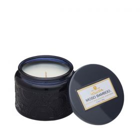 Voluspa Moso Bamboo Petite in Colored Jar Glass Candle