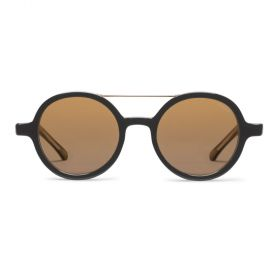 Komono vivien black & gold Sunglasses