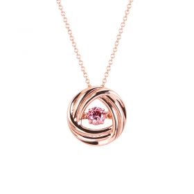 Fervor Montreal Dancing Gems Rose Gold Necklace