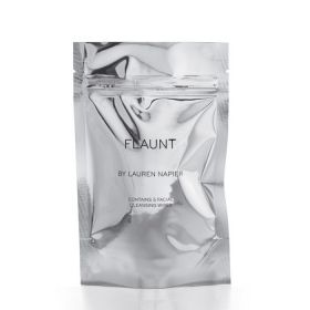 Lauren Napier Flaunt Treasure Cleansing Wipes - 5pcs