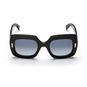 Boucheron Black and Gradient Smoke Sunglasses
