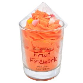 Bomb Cosmetics Fruit Firework Piped Glass Candle