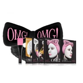 Double Dare OMG! Premium Package Black (4 masks with Black Hair Band)