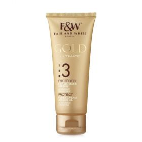 Fair & White Gold Ultimate Protect Hand Cream With Argan Oil - 75ml