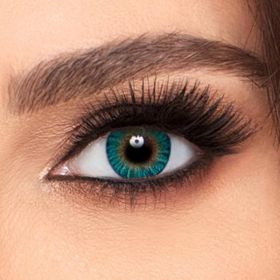 FreshLook Plano ColorBlend Eye Lenses - Turquoise - ( Monthly)