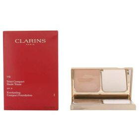 Clarins Everlasting Compact Foundation - Spf 15 - N 110 - Honey