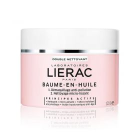 Lierac Balm in Oil Cleanser Anti-Pollution MakeUp Remover - 120g