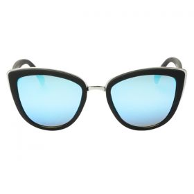 Quay Australia my girl black and blue Sunglasses