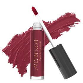 D. Benoit Matte Lip Colour - N Mc 106 -  French Merlot