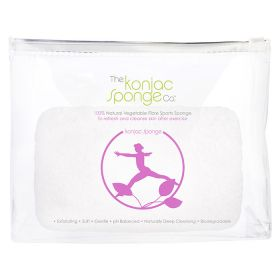 The Konjac Sponge - Sports Sponge For Women - Lilac