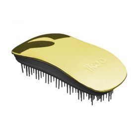 Ikoo Home Metallic Hair Brush - Soleil Black