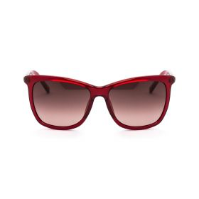 DVF Crystal Red Sunglasses
