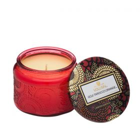 Voluspa Goji & Tarocco Orange Petite  in Colored Jar Wild Glass Candle
