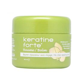 Biocyte Keratin Forte Balm Repairs and Protects Damaged Hair - 100ml