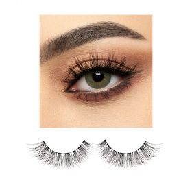 BJ Beauty ProLenses Eye Lenses + Eyelashes - Basil PWR 0.0