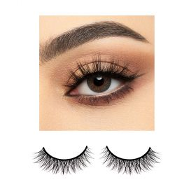 BJ Beauty ProLenses Eye Lenses + Eyelashes - Ash PWR 0.0