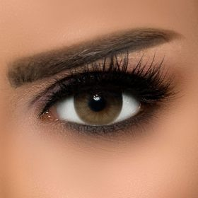 Dahab Contact Lenses - Monthly - Creamy #15