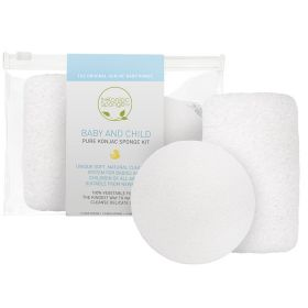 The Konjac Sponge - Baby and Child Sponge Kit