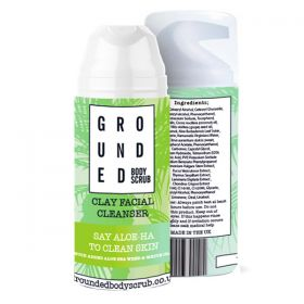 Grounded White Clay and Aloe Sea weed Facial Cleanser