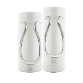 Tic Travel Set Bottles - Pearl White
