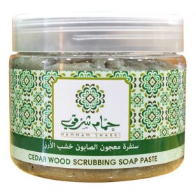 Scrubbing Soap Paste Cedar Wood - 500g