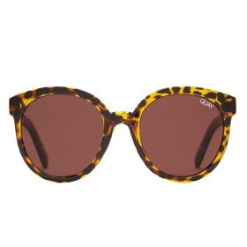 Quay Australia high tea tortoise and brown Sunglasses