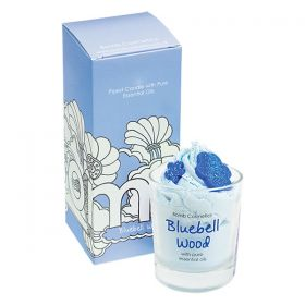 Bomb Cosmetics Bluebell Woods Piped Glass Candle