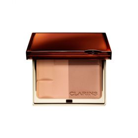 Clarins Bronzing Duo Mineral Powder Compact Spf 15 - N 01 - Light