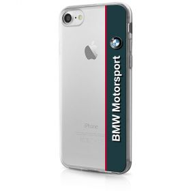BMW - Transparent Soft Case Navy - iPhone 7