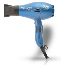 Parlux Advance Light Ionic & Ceramic Hair Dryer - Matt Blue (40th Anniv Edition)