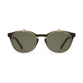 Quay of Australia - Penny Royal Rectangular Green & Tortoise/Gold Sunglasses