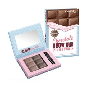 Brow Duo Eyebrow Powder - No.M374.4 - Medium Chocolate