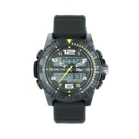 Black White Green Watch - Sports - Men