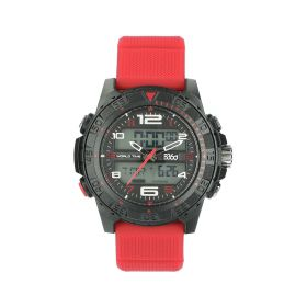Black & Red Watch - Sports - Men