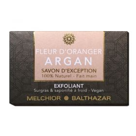 Orange Blossom & Argan Soap For Exfoliation - 100 g