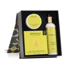 Spongelle - Flower Collection - Coconut Verbena Gift Set