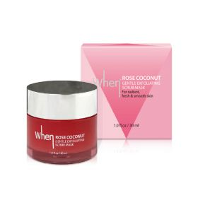 When -  Rose Coconut Gentle Exfoliating Scrub Mask - 30 ml
