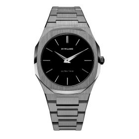 Ultra Thin Black Watch - Men