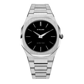 Ultra Thin Silver Watch - Men
