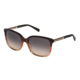 Escada Faded Brown and Gradient Brown Sunglass