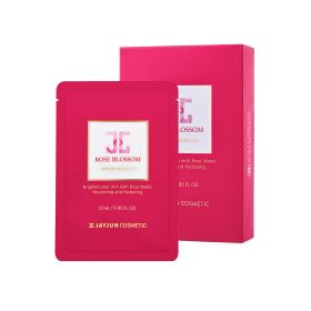 Jayjun - Rose Blossom Mask - 10 Sheets