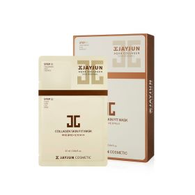 Jayjun - Collagen Skin Fit Mask - 10 Sheets