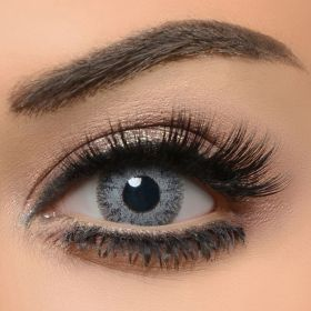 The Queen Color Eye Lenses - Floresta Gray