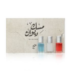Dewan Musk Set - 3x6 ml