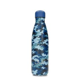 Blue Camo Bottle - 500ml
